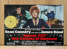 007 UNA CASCATA DI DIAMANTI fotobusta poster James Bond Diamonds Are Forever 6