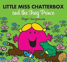 NEW sparkly LITTLE MISS CHATTERBOX and FROG PRINCE (BUY 5 GET 1 FREE book Mr Men