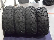 "2002-2013 POLARIS SPORTSMAN 500 BEAR CLAW 25"" ATV TIRES SET 4) 25X8-12 25X10-12"
