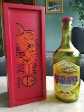 Jose Cuervo RESERVA DE LA FAMILIA empty Bottle and Case