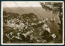 Napoli Capri Cetrella Foto FG cartolina VK2762