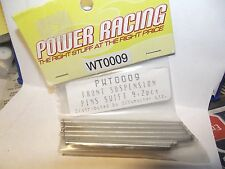 Power Racing Pwt0009 Front Suspension Pins Swift 4+2 pcs