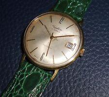 Alte Herren ⌚ TOPFLITE m. Datum 35mm 60er Vintage Watch Handaufzug Swiss Uhr HAU