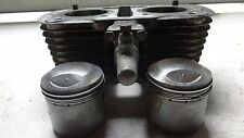 1972 Honda CL350T Twin 350 HM474B. Engine top end cylinders jug pistons