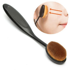 Face Powder Blusher Toothbrush Curve Foundation Brush Cream Liquid Contour oval