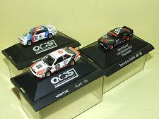 BMW M3 & AUDI V8 DTM lot 3 modèles HERPA HO 1:87