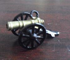 Vintage 1950s Tin Civil War Cannon Pendant
