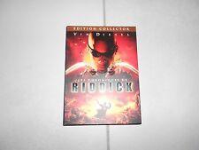 Les CHRONIQUES DE RIDDICK film DVD avec Vin DIESEL Edition Collector