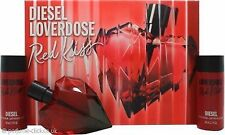 DIESEL LOVERDOSE RED KISS 50ML EDP/ 2 X 50ML BODY LOTION BRAND NEW & BOXED
