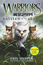 Warriors Field Guide: Battles of the Clans by Erin Hunter c2010, VGC Hardcover