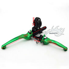 Green Brake Clutch Handle Lever For Chinese Dirt Bike KLX110 XR50 CRF70 CRF50