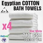 Luxury Bath Towel and Sheet 710GSM Egyptian Cotton - 4 Pack Towels Set