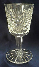 WATERFORD CRYSTAL CLARE PATTERN PORT WINE GLASS (S) 4 3/8""