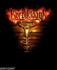 KORPIKLAANI cd lgo PAGANFEST TOUR 2009 Official Babydoll SHIRT LRG new