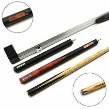 RILEY Ronnie O`Sullivan CYCLONE Hand Spliced Snooker Cue, Ext & Aluminium CASE