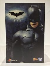 Hot Toys BATMAN BEGINS The Dark Knight MMS67 1/6 scale action figure USED