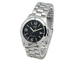 -Casio MTP1215A-1A Men's Metal Fashion Watch Brand New & 100% Authentic