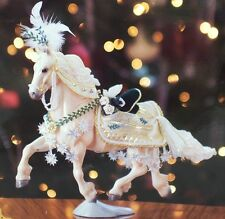 Breyer Holiday Horse - NOELLE CHRISTMAS 2008 Goffert Rose Grey Friesian Drafter