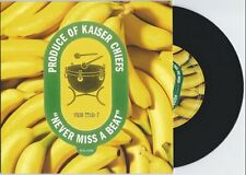"The Kaiser Chiefs ""Never Miss a Beat"" 7"" OOP Foo Fighters Kings of Leon"
