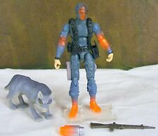 GI JOE 25th anniversary Snake Eyes v36 2008 Ninja Commando action figure Timber