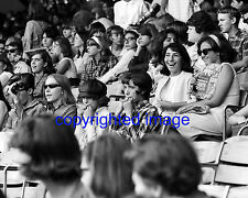 Fans waiting for The Beatles Concert Comiskey Park August 1965  B+W 8x10 I