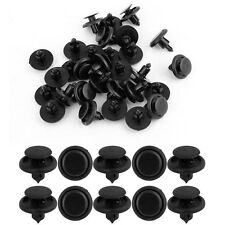 20 X Car 7mm Bumper Fender Splash Guard Retainer Clip Fastener Rivet For Toyota