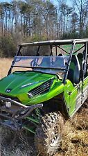 2012-15 Kawasaki Teryx 4 Clear Half Front Windshield-1/4 THICK Polycarbonate!