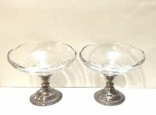 Set of Vintage Sterling Silver Footed Compote/Candy Dish Frank M. Whiting & Co.