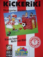 Programm 1996/97 SC Fortuna Köln - Stuttgarter Kickers