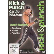 EMMANUEL AKERMANN - KICK & PUNCH CARDIO-WORKOUT  DVD  SPORT & FITNESS  NEU
