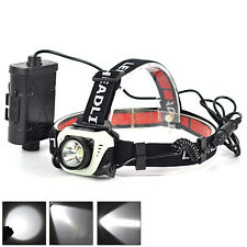 5W XPG LED 1-Mode 300Lm 18650 Sensor Headlamp Flashlight Head Lamp light Torch