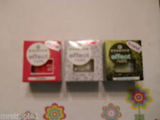 LOT OF 3 ESSENCE EFFECT NAILS LOOSE GLITTER  - AS SHOWN, LISTED - NEW, BOXED