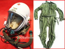 NEW Flight Helmet High Altitude Astronaut Space Pilots Pressured +FLIGHT SUIT 1#