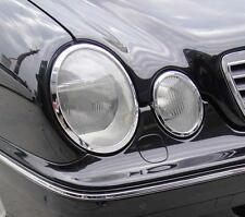 MERCEDES E CLASS W210 95-02  Chrome Headlight Trim