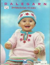 Dale of Norway NR 155 Dalegarn Baby Knitting Norwegian Pattern Book 0-36 month