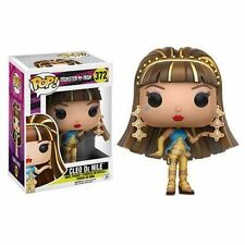 IN STOCK PLEASE READ Funko POP Monster High CLEO DE NILE #372 Vinyl Figure