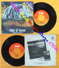 LP 45 7'' CARLOS SANTANA Flor d'luna Trancedance 1977 italy CBS no cd mc dvd*