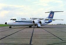 "Air UK BAe 146-300 ""Whisper Jet"" G-UKHP Aviation Postcard"