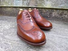 EDWARD GREEN VINTAGE BROGUE – BROWN / TAN – UK 10.5  – UNWORN CONDITION