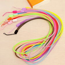 10pcs Luminous Lanyard Mobile Cell Phone Key USB Badge Cords Strap Lanyard QW