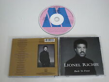 LIONEL RICHIE/BACK TO FRONT(MOTOWN 530 018-2) CD ALBUM