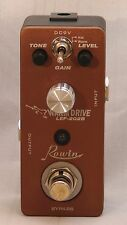 "ROWIN  LEF-202B ""Warm Drive"" Micro/Mini Effect Pedal Great Tone Great Price!"
