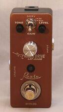 """ROWIN  LEF-202B """"Warm Drive"""" Micro/Mini Effect Pedal Great Tone Great Price!"""