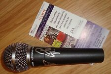 """CHEAP TRICK SIGNED AUTO MICROPHONE RICK NIELSEN JSA COA """"I WANT YOU TO WANT ME"""""""
