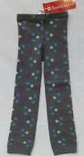 American Girl Gray Cozy Print Leggings Sm/Med (3/4) cotton, polyester, & spandex