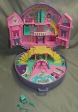 Vintage 1994 Polly Pocket Musical Dream Wedding Playset Bluebird Heart Case toy
