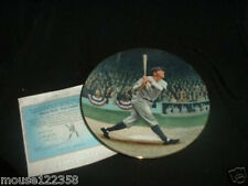1992 Babe Ruth Collector Plate  Limited Edition
