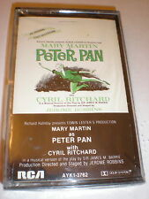 Peter Pan CASSETTE NEW Mary Martin