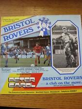 23/01/1987 Bristol Rovers v York City [1st Season At Bath City]  (Item Has No Ap