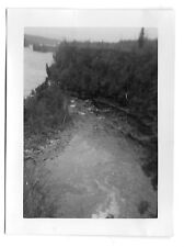 Ontario Kaministiquia River below Kakabeka Falls Photo 1939